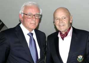Sie prägten den Golfclub über Jahzehnte hinweg: Dr. Roland Lenoch und Dr. Heinrich Wilhelm Hold.